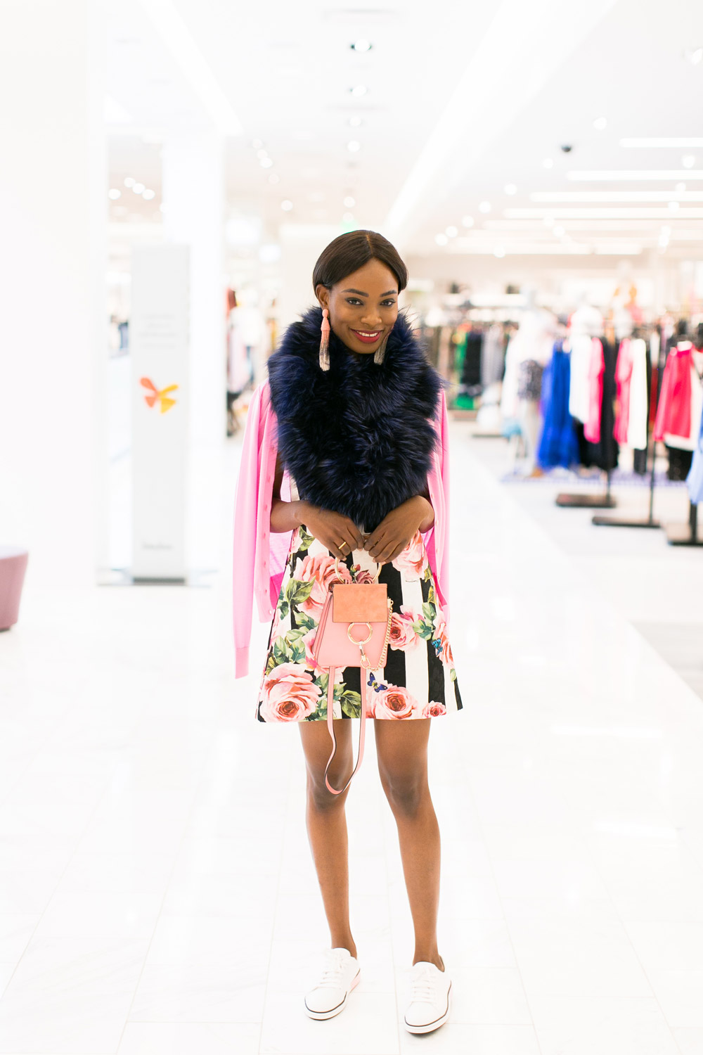 5c7046556d ... Neiman Marcus Spring Trends 2018 Media Preview floral trend on models  ...