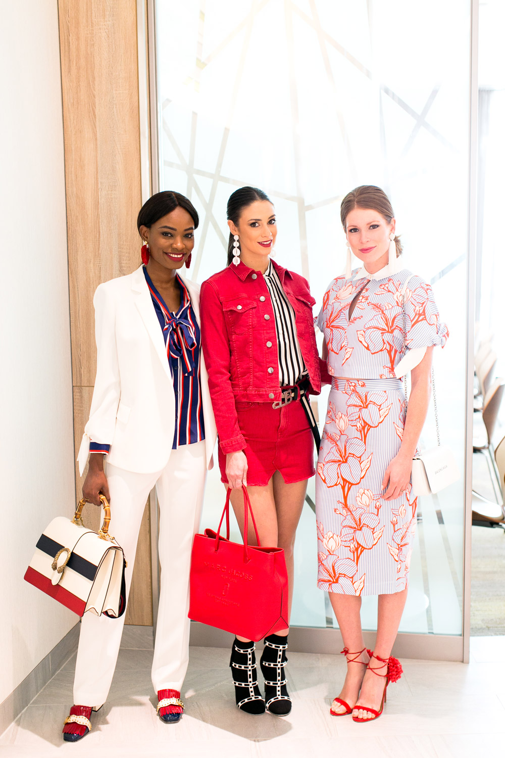 917df2bfd8 Neiman Marcus Spring Trends 2018 Media Preview STRIPES trend on models