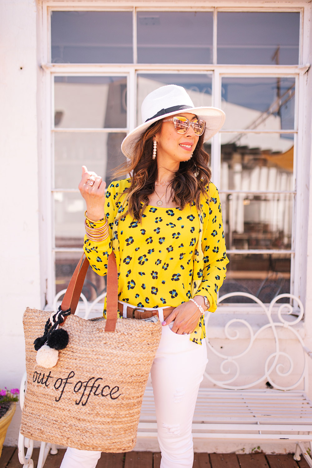 ee2f451a0f ... style of sam in cabi yellow sunny set